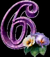 """Chiffres """"Fleurs"""" 974631a1"""